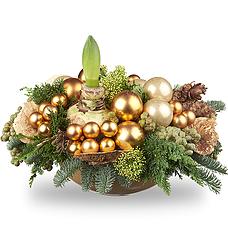 Kerststuk traditioneel