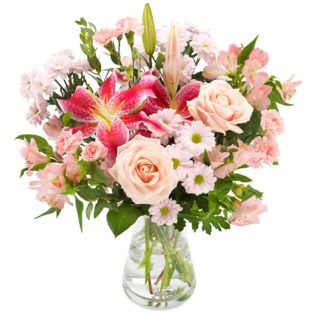 Het leven gaat over rozen