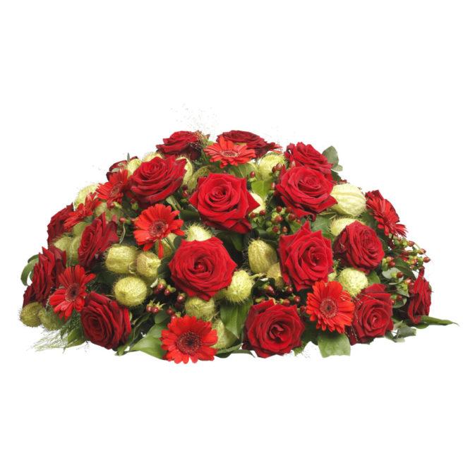 Biedermeier rode rozen klassiek