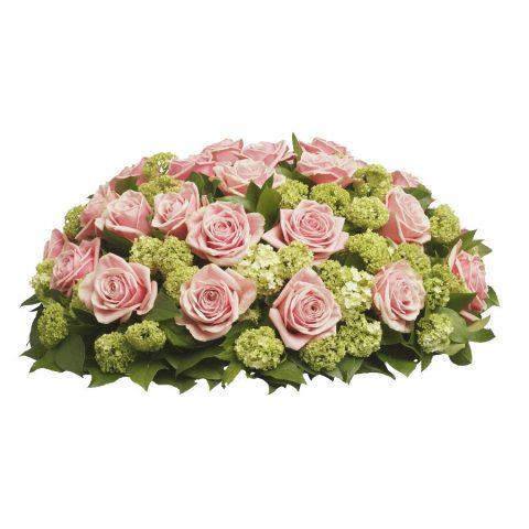 Biedermeier roze rozen klassiek
