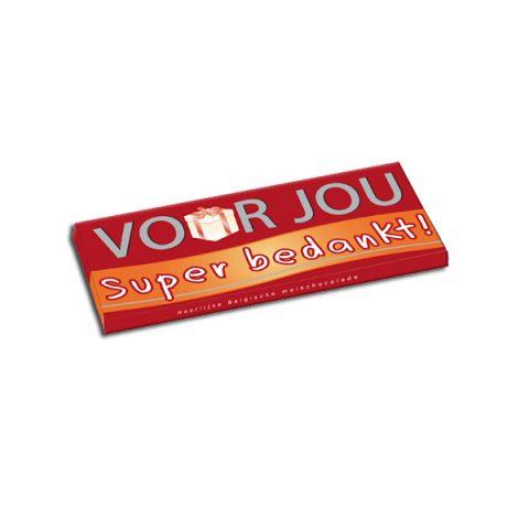 Voor Jou Belgische Chocolade - Super bedankt!