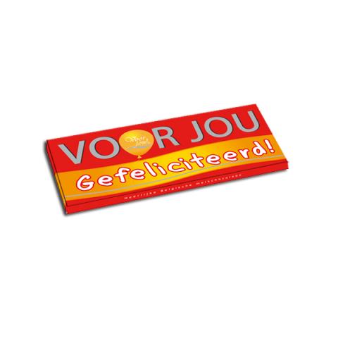 Voor Jou Belgische Chocolade - Gefeliciteerd!