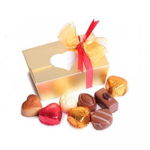 Doosje ambachtelijke bonbons 125 gram